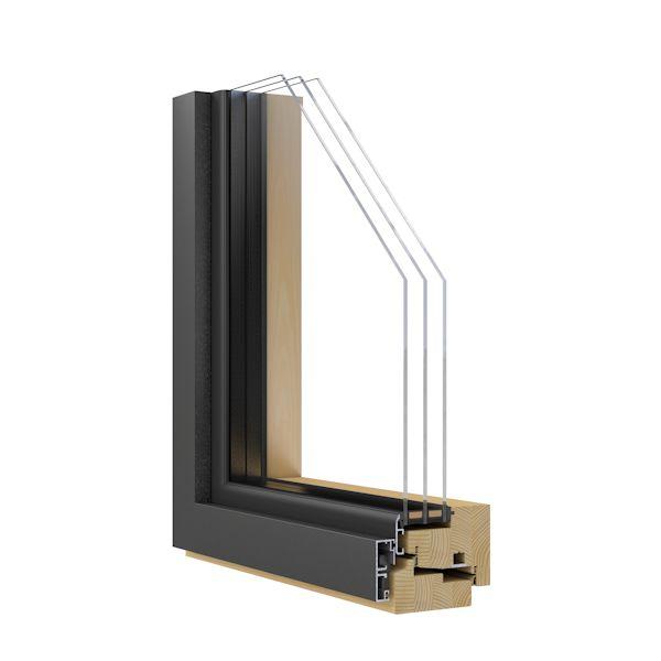 Holz aluminium fenster mit schmalsten ansichten for Holzfenster hersteller