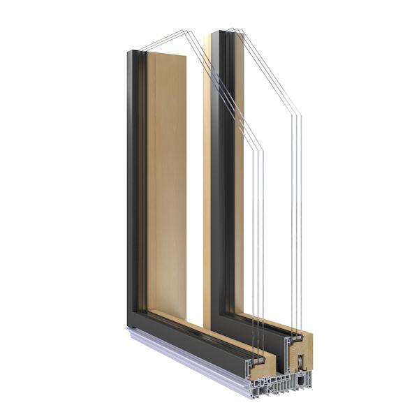Holz alu fenster vorteile neuesten design for Fenster holz alu