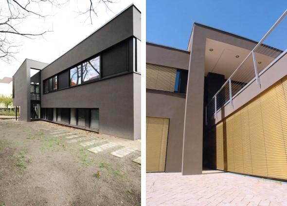 villa in pankow timm fensterbau. Black Bedroom Furniture Sets. Home Design Ideas