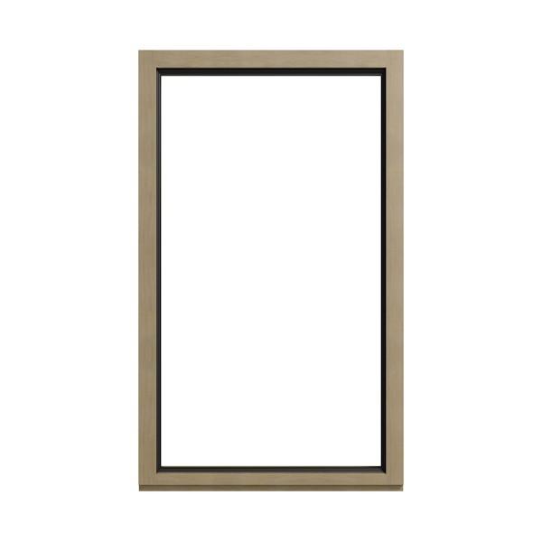 Holz-Integral-Fenster W 105 I Ansicht aussen
