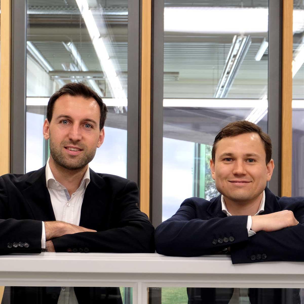 Kariere: Geschäftsleitung Jonas & Bastian