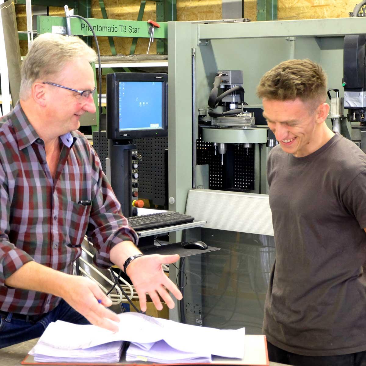 Timm Fensterbau, Karriere: Metallbauer Ausbildung