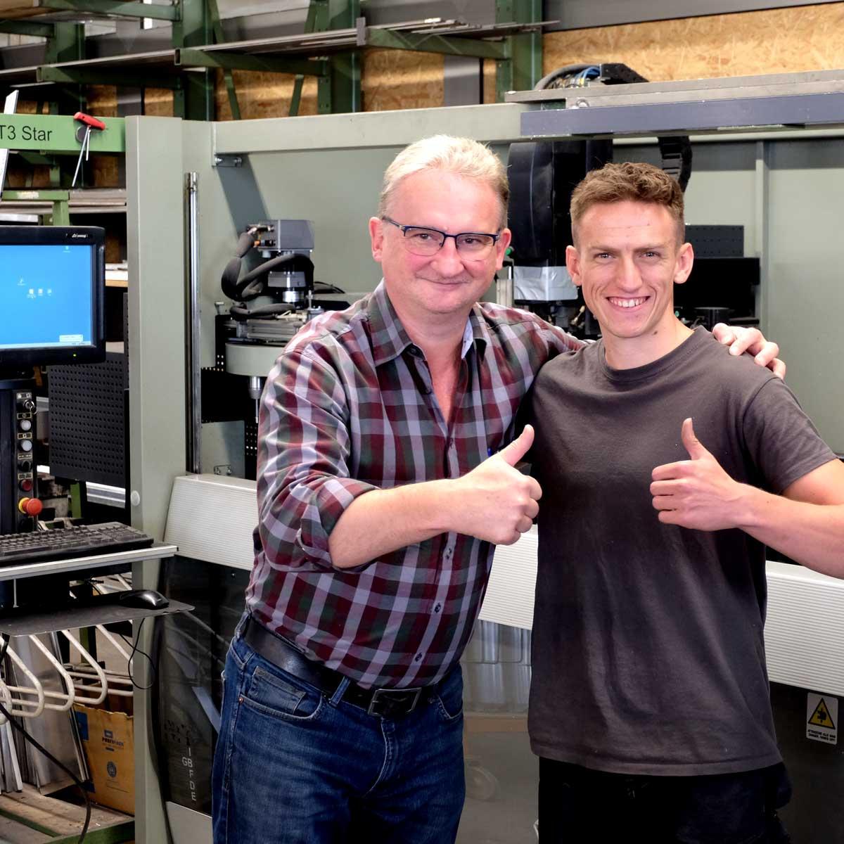 Kariere: Metallbauer